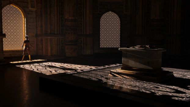 The Ancient Queen's Tomb by Janus3003