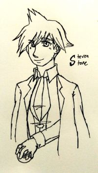 Inktober Day 22 - Steven Stone by solcastle