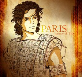 Paris of Troy old sketch by Neldorwen