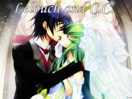 CC and Lulu Married by mcdh0908