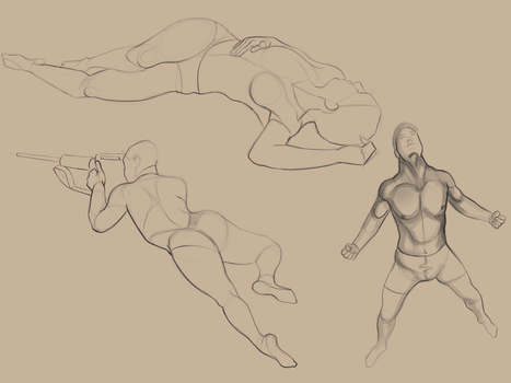 figure drawing practice 1 by sparrargh