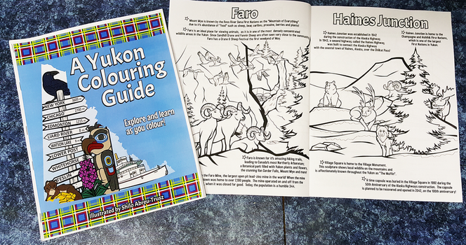 A Yukon Colouring Guide Prototype by CindersDesigns