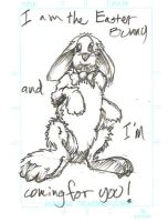 The Bunny/ Easter bunny by 7and2