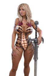 STOCK Caramel Bimbo Amazon - Carapace Fairy Armor by ambient-avalancher
