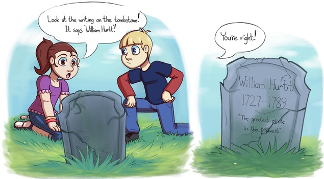Finding William Hurtt's Grave! by Lazy-Sage