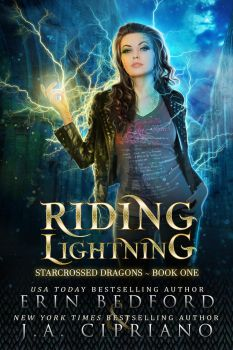 Riding Lightning - Ebook Cover by FrostAlexis