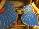 Sphinx Costume/Prop Wings by TheJugglingOctopus