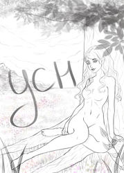 [Closed] YCH Auction: Under the tree by Orilone