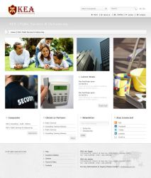 KEA Group website design (public services page) by ohmto