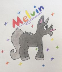B-Day G: Melvin the Magical Unicorn by Devil-The-Wolf