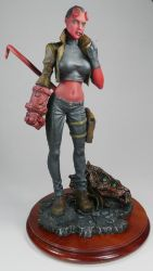 Hellgirl 6, Garage Kit by Harkon72