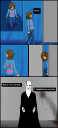 QuantumTale - Prologue: The Statue pg1 by FoxyPheonix