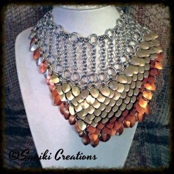 Scalemaille Necklace by sanikicreations