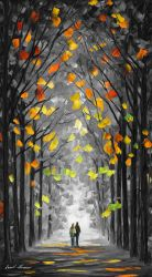 ALTAR OF TREES Limited Edition Giclee by Leonidafremov
