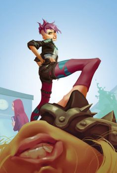 Tracer Punk ... by Grobi-Grafik