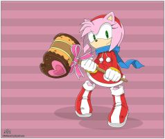 Amy Rose by AkiOrinoco
