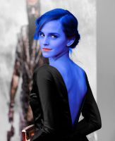 Emma Watson Blueberry Transformation by berrytoberry