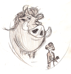 timon and pumbaa by murr-ma-ing