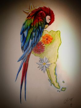 Parrot by Wyrdafell