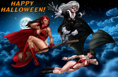 Happy Halloween from Justice H- (Clothes Version) by drawnthatwayxx