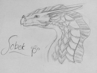 DAY 1: SOBEK by talons-and-tails