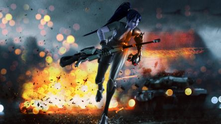 Widowmaker - Battlefield by hicky22