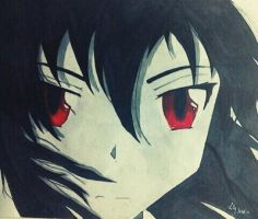 Akame from Akame ga kill | Fan art by Twist-of-Fate-Art