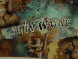 01- John Wayne by OhMyFuckingArt
