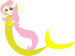 Fluttershy the mermaid by user15432
