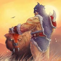 Rexxar, Champion of the Horde by Faisca2