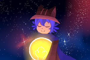 Starry Niko by Lightqken