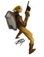 The Rocketeer by tedkeys