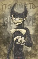 Bendy And The Ink Machine Demon by ChrisOzFulton