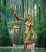 Lady of the Swamp by kongvmax