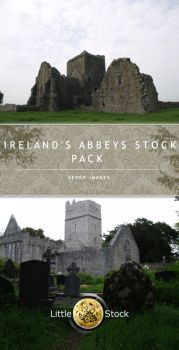 Ireland's Abbeys Stock Pack by little-stock