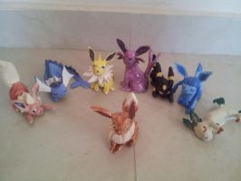 Eeveelutions by mandyblue