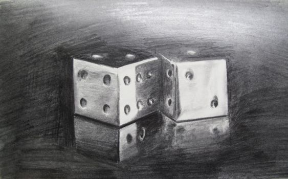 Dice by Maria-92