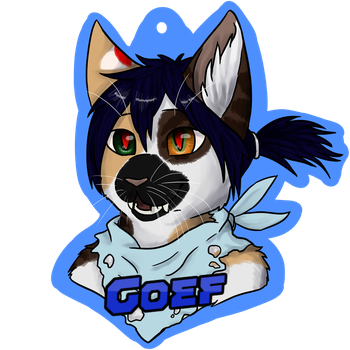 Goef cosplay badge by baltobud8