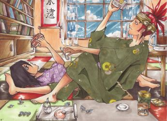 :: Coffee addicted :: by Eien-no-hime