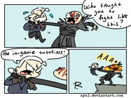 The Witcher 3, doodles 336 by Ayej