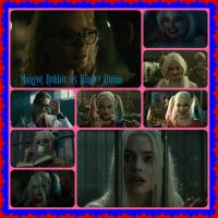 Margot Robbie as Harley Quinn by pamlaisly232