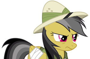 Vector #11 - Daring Do by DashieSparkle