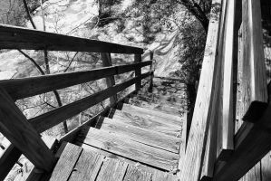 Old Stairs by PhillyPuddy