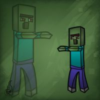 Minecraft Mob Spotlight: Zombie Villager by TruCorefire