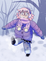 puffy winter coat by TheApatheticKat
