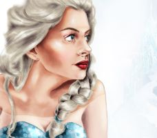 Elsa-frozen by Mize-meow