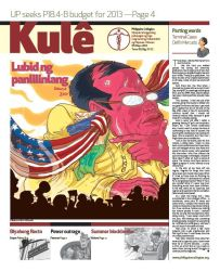 Philippine Collegian Issue 31-32 by kule1112