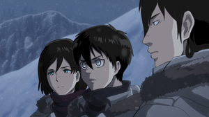 [SNK-AOT  FSC] - During the mission in the snow 2 by Manuyo-kun
