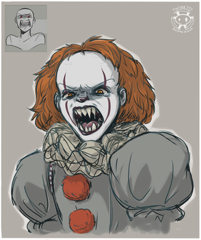Expression Challenge - Angry Pennywise by Twime777