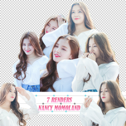 {Pack Render 1}  Nancy Momoland by Minah-DDH